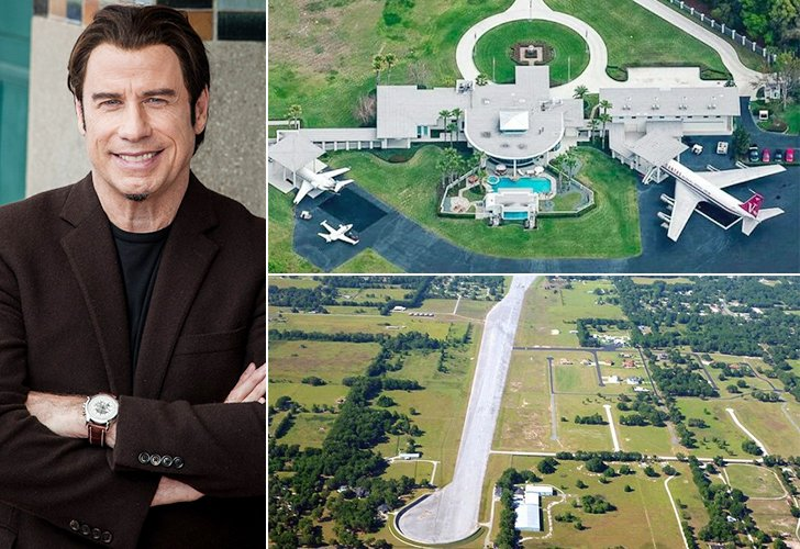 John Travolta Is Wealthy U2013 So Much So That He Does Not Move In And Out Of  The Airport Continuously Like Us Lesser Mortals. He Flies Off From His  Personal ...
