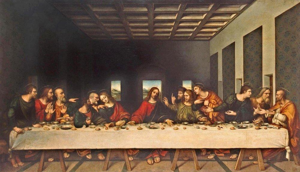 Leonardo Da Vinci was Famous for his Last Supper Painting