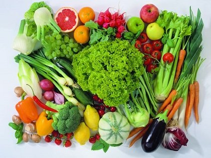 Assorted vegies are healthy for you