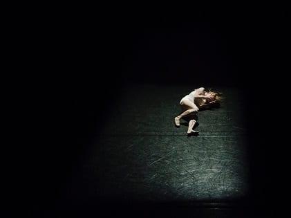 girl lying down